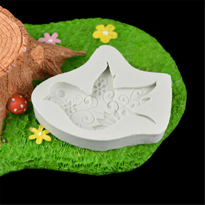 Food-grade dove of peace shape resin molds silicone fondant cake decorating、New