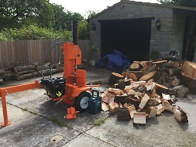 22t log splitter with operator for hire
