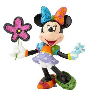 NEW Official Disney Figurine Minnie Mouse With Flowers by Britto *FREE AU POST!*
