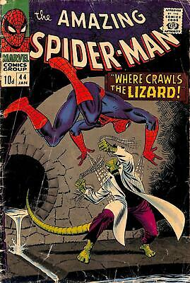 Amazing Spider-Man #44 GD 2nd Lizard