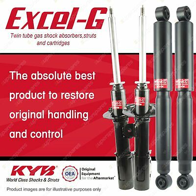 Front + Rear KYB EXCEL-G Shock Absorbers For HOLDEN Captiva CG CG II SUV