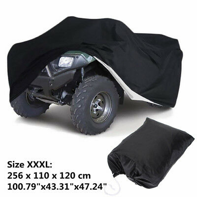 XXXL ATV Quad Bike Cover WaterProof Heatproof Protector Polyester Fiber