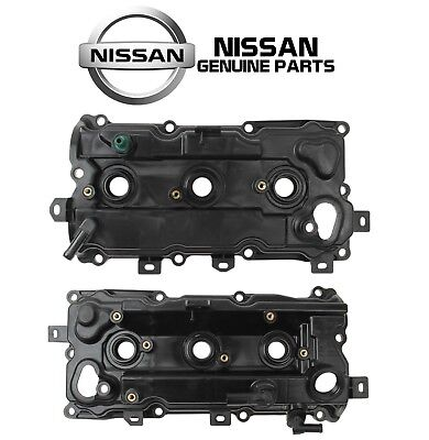For Pair Set of Left & Right Valve Covers For Nissan Altima Pathfinder V6 3.5L