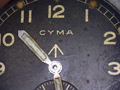 Cyma 234 Military W.W.W. Watch Movement Parts - Choose From Spares List