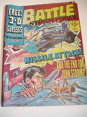Battle with Storm Force 29th August 1987