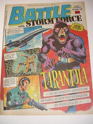 Battle with Storm Force 15th August 1987