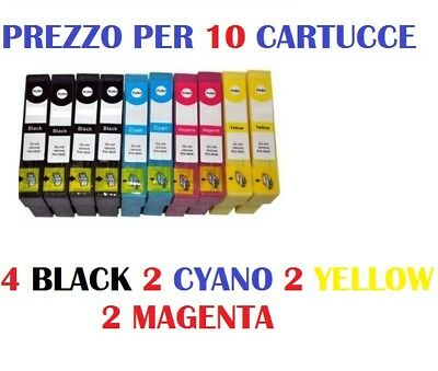 10 CARTUCCE X EPSON Expression Home XP-102 CARTUCCIA D'INCHIOSTRO COMPATIBILE
