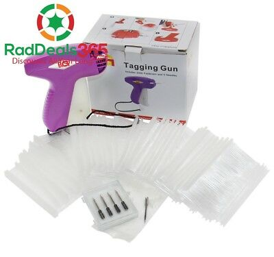 PAG Price Tag Standard Attacher Tagging Gun for Clothing with 5 Needles and