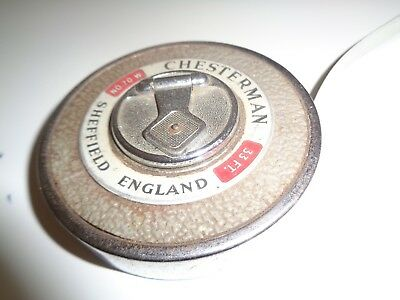 Chesterman 33FT No. 70W Tape Measure - As Photo