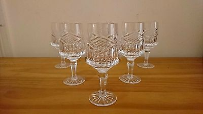 SET OF 6 Tyrone Crystal Slieve Donard BRANDY GLASSES IRISH CUT GLASS