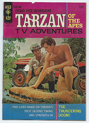 Tarzan Of The Apes Comic Book #165 Gold Key 1967