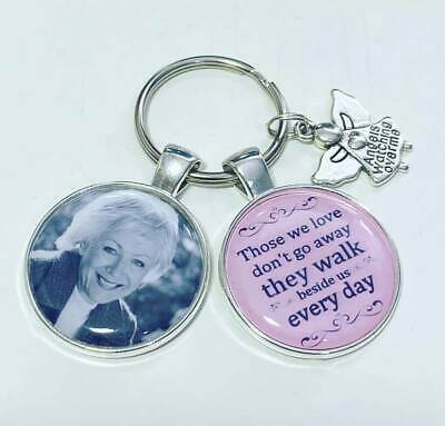 Memory photo keyring Bereavement gifts memorial keyring memory gifts loss gifts
