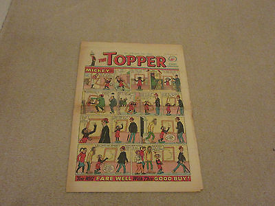 THE TOPPER COMIC, No 518- Jan 5th 1963- with  BERYL THE PERIL- good condition-