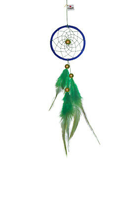 Rooh dream catcher Blue and green weave Handmade Hangings for Positivity