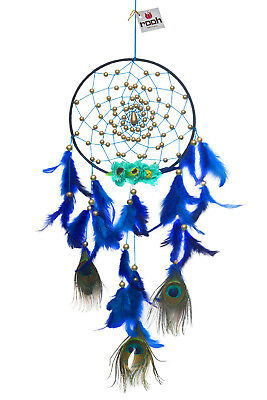 Rooh dream catcher  royal peacock with flowers Handmade Hangings