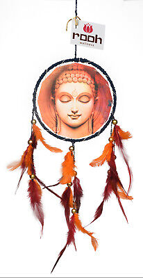 Rooh dream catcher  canvas buddha dhyanam Handmade Hangings for Positivity