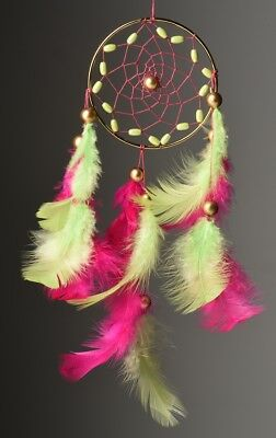 Rooh dream catcher  Freesia Pink Car Hanging Handmade Hangings for Positivity