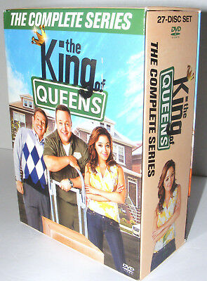 King of Queens The Complete Series 27 DVD Box Set 1 2 3 4 5 6 7 8 9 LOT Season