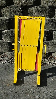Versa-Guard VG-5000 Yellow/Magenta Expandable Safety Barrier