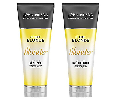 JOHN FRIEDA Sheer Blonde Go Blonder Lightening Shampoo and Conditioner 250 ml