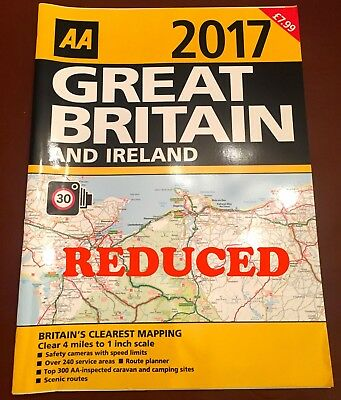 29 X AA 2017 GREAT BRITAIN AND IRELAND ROAD ATLAS -JOB LOT of 29
