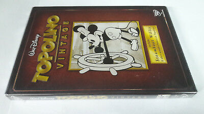 dvd TOPOLINO VINTAGE Include Streamboat Willie e altri classici WALT DISNEY