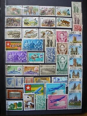 Collection Of Togo Togolaise Stamps