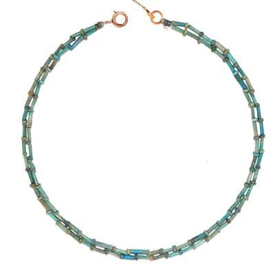 A fine Egyptian Faience Necklace, Late Period, ca. 664 - 332 BC