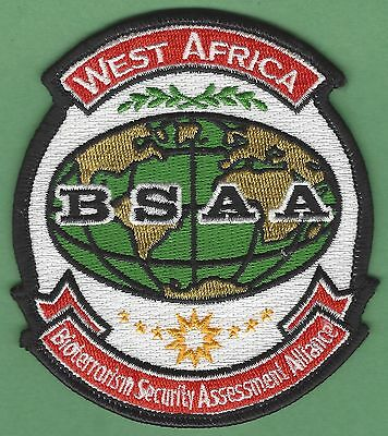 Bsaa Resident Evil West Africa Bioterrorism Security Assessment Alliance Patch