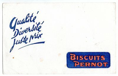 Buvard publicitaire Biscuits Pernot