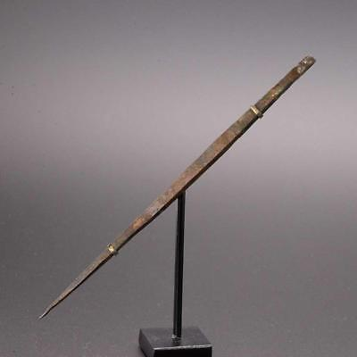 A rare Roman Bronze Medical Needle, Roman Imperial Period, ca. 2nd-4th Century A