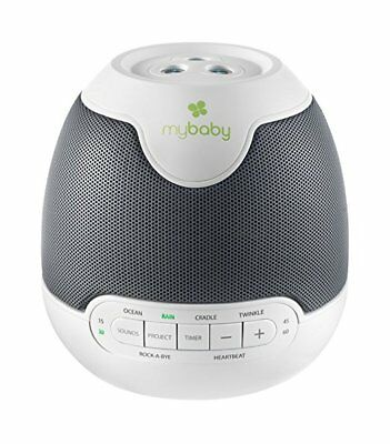 myBaby SoundSpa Lullaby Sounds & Projection Plays 6 Sounds and Lullabies