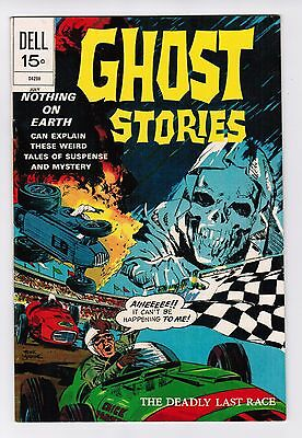 GHOST STORIES  COLOR  DELL COMICS   # 33   1972  VERY FINE  and more condition