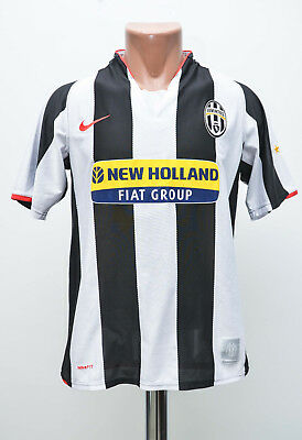 Size S Juventus Italy 2007/2008 Home Football Shirt Jersey Maglia Nike