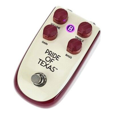 Danelectro 'Billionaire' Series Pride of Texas Overdrive Guitar Effects Pedal