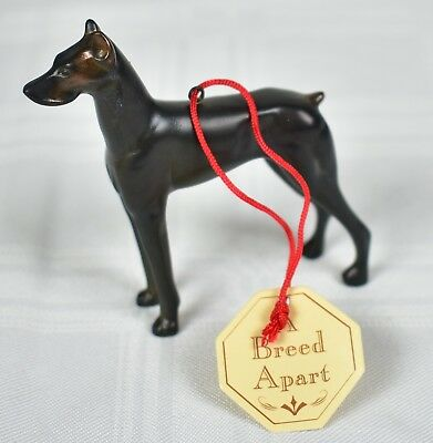 A Breed Apart Metal Dog Doberman Ornament - Midwest of Cannon Falls