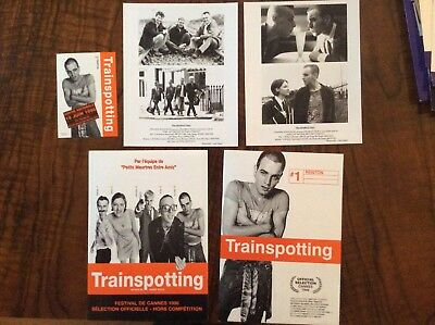 Trainspotting Original 1996 DP Français + English + Tirages Argentiques + CP