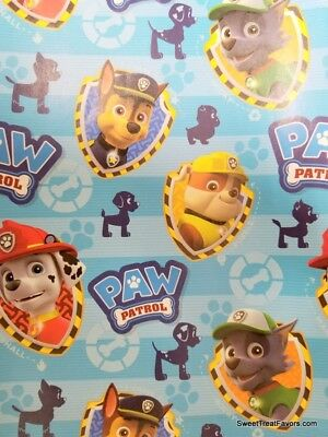 Paw Patrol Wrapping Paper 2 Sheets Gift Book Cover Birthday Decoration Party BLU