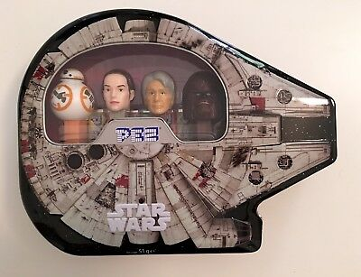 STAR WARS Pez Collectible Collectable Gift Tin - Brand New & Sealed