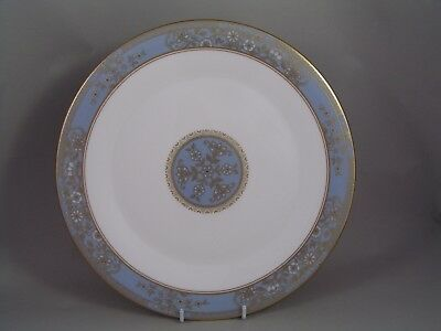 "Royal Doulton Carlyle  Blue 10 3/4"" Dinner Plate, H 5258."