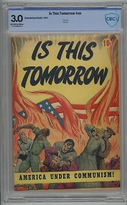 Is This Tommorow # NN CBCS 3.0 GD/VG 10 CENT Version 1947 Flag Cover SCARCE