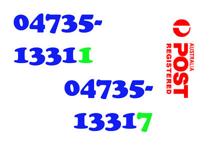 Twin New Mobile Phone Numbers Sim Starter