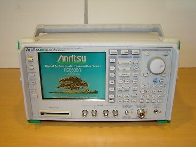 Anritsu MS8608A Digital Mobile Radio Transmitter Tester. Unit Not Tested!