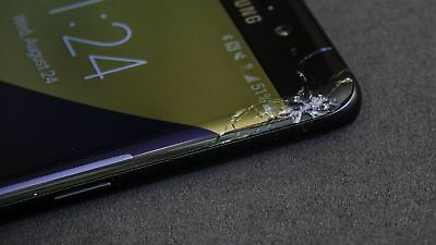 Samsung Galaxy S8 - Cracked Screen Glass Repair