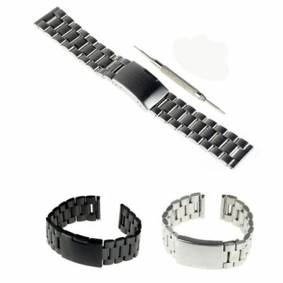 22mm Stainless Steel Watch Band Strap for Samsung Gear S3 Frontier / S3 Classic