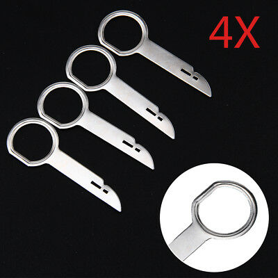 4x For Ford Focus Fiesta Mondeo Car CD Stereo Radio Removal Release Keys Tools