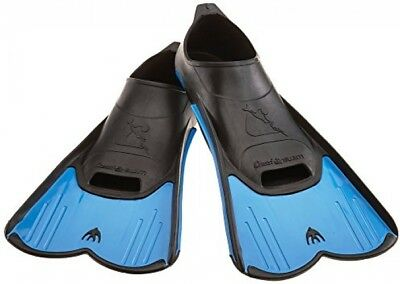 Cressi Light Swim Fin, Pool and Training Short Blade Full Foot Fins, 8.5/9.5