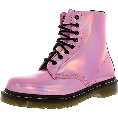 Dr. Martens Women's Pascal Iced Metallic Leather High-Top Boot