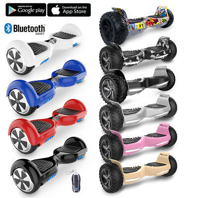 6 5 39 39 zoll bluetooth hoverboard self balance scooter. Black Bedroom Furniture Sets. Home Design Ideas
