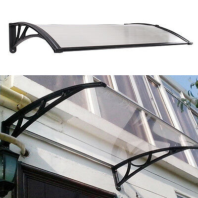 Door Canopy Awning Ack Porch Outdoor Roof Cover Rain Shelter Front HK